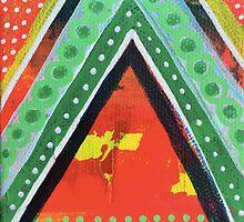 Abundant - Core Feeling: Inner Power Painting by mellierosetest