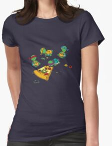 Baby Ninja Turtles Womens Fitted T-Shirt