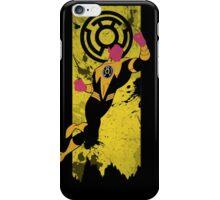 Yellow Lantern Corps Sinestro iPhone Case/Skin