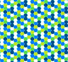 Bold geometric pattern with circles by tukkki