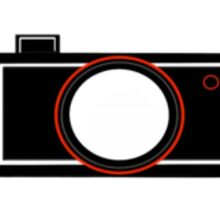 Minimal Camera Sticker