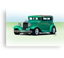 1930 Ford Model A Sedan Canvas Print