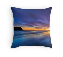 Dreamtime - a place between night and day Throw Pillow