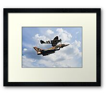 Spitfire Typhoon Framed Print