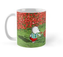 Pup in the poppies Mug