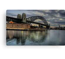 Underneath The Arches - Sydney Harbour Bridge - The HDR Experience Canvas Print