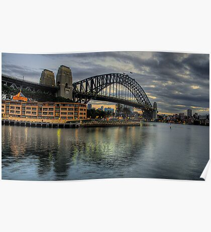Underneath The Arches - Sydney Harbour Bridge - The HDR Experience Poster