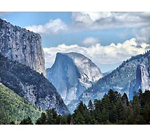 Valley View of El Capitan and Half Dome Photographic Print
