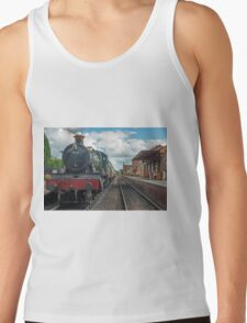 The Odny Manor Steam Loco West Somerset Railway Tank Top