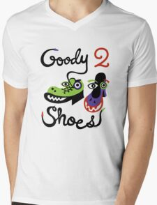 Goody Two Shoes Mens V-Neck T-Shirt