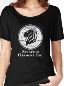 The Wolf of Wall Street Stratton Oakmont Inc. Scorsese (in white) Women's Relaxed Fit T-Shirt