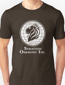 The Wolf of Wall Street Stratton Oakmont Inc. Scorsese (in white) Unisex T-Shirt