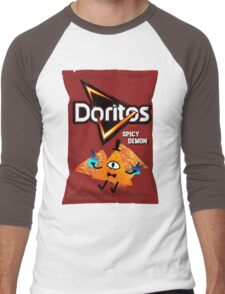 Bill Cipher Demon Doritos Men's Baseball ¾ T-Shirt