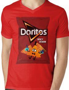 Bill Cipher Demon Doritos Mens V-Neck T-Shirt