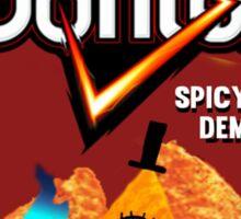 Bill Cipher Demon Doritos Sticker