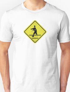 The Cross-Walking Dead Unisex T-Shirt