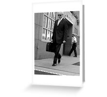 Mystery Man Greeting Card