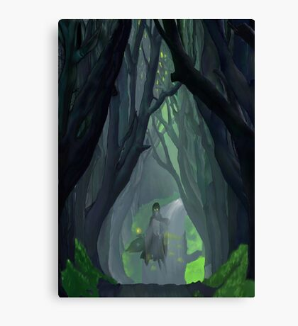 'Ware the Wood Wight Canvas Print