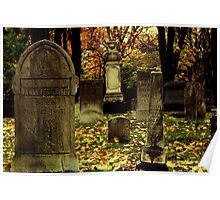 Cemetary in Michigan Poster
