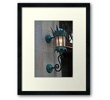 Gothic Light Framed Print