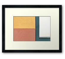 -L Framed Print