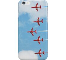 The Red Arrows team iPhone Case/Skin