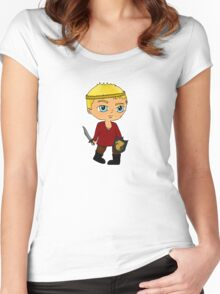 Tiny Bear King Women's Fitted Scoop T-Shirt