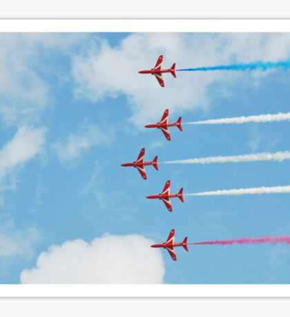 The Red Arrows team Sticker