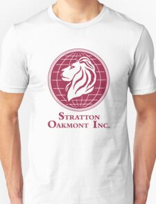The Wolf of Wall Street Stratton Oakmont Inc. Scorsese (in burgundy) T-Shirt