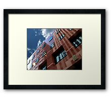 Cityscapes - Reflector Framed Print