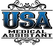 USA MEDICAL ASSISTANT by tdesignz