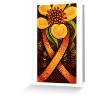 Love and hope for survivors Greeting Card