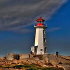 Peggy's Point Lighthouse by Kate Adams