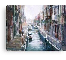 Venise ,apres la pluie Canvas Print