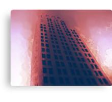 Cityscapes - Hellfire Canvas Print