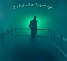 The Great Gatsby - He believed in the green light by MatthewTri