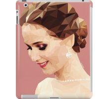 Jennifer Lawrence Low Poly iPad Case/Skin