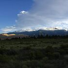 Dawn strikes Medano Peak and the Great Sand Dunes, CO 2010 by J.D. Grubb