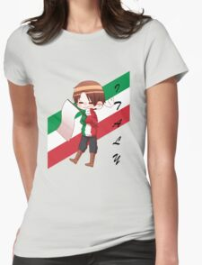APH Italy - Flag Sweater Womens Fitted T-Shirt