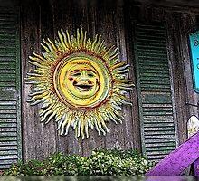 Old Sol in Cedar Key by Debbie Robbins