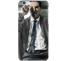 Benedict Cumberbatch - smoking iPhone Case/Skin