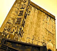 Queen Theatre, Downtown Bryan by Aggiephilia