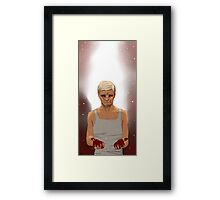 Have you been a bad boy, Lester? Framed Print