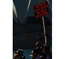 Artists Have Rights Photographic Print