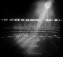 A night at the footy.... by Ruben D. Mascaro