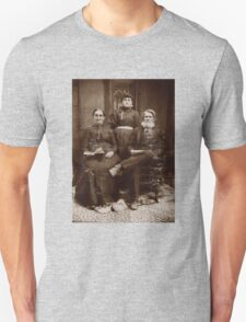 Creepy 1800s Family Photo  T-Shirt