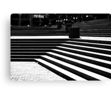 Stair Lines Canvas Print