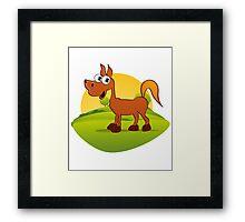 My Pony Framed Print