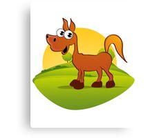 My Pony Canvas Print