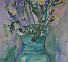 Quirky Carnations are my Favourite by Julie-Ann Vellios